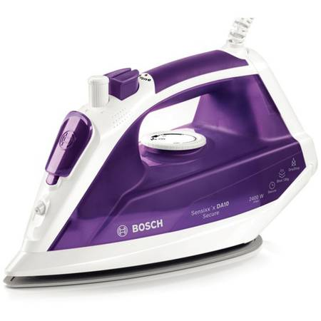 Fier de calcat Bosch TDA1024110 2400W, Alb/Violet