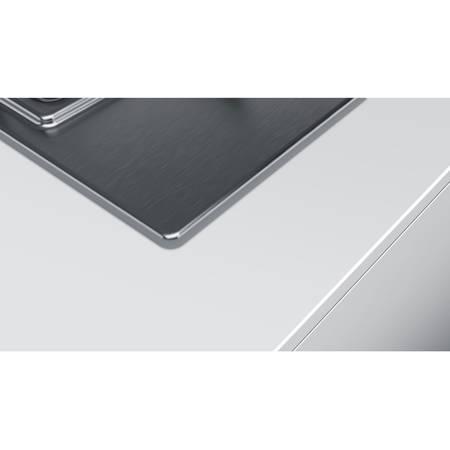 Plita Bosch PCP6A5B80 4 arzatoare gaz Inox 60 cm Argintie