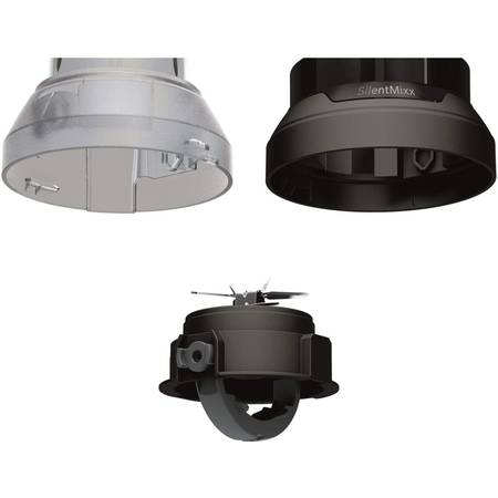 Blender Bosch MMB64G3M 800W, Negru/Inox