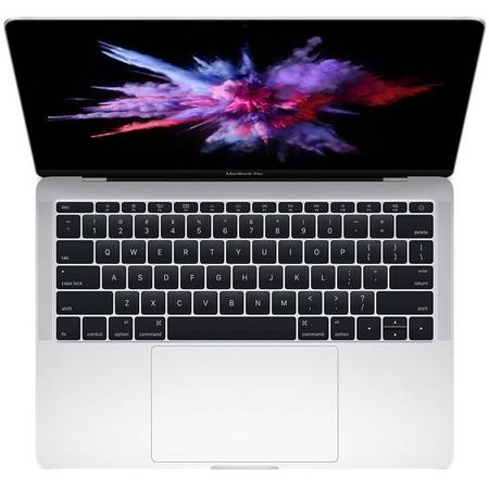 Laptop Apple MacBook Pro 2016 13.3 inch Quad HD Retina Intel Core i5 2.0GHz 8GB DDR3 256GB SSD Intel Iris 540 Mac OS Sierra Silver INT keyboard