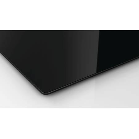 Plita Bosch PKF619C17E Electrica 4 Zone de gatit Sticla neagra