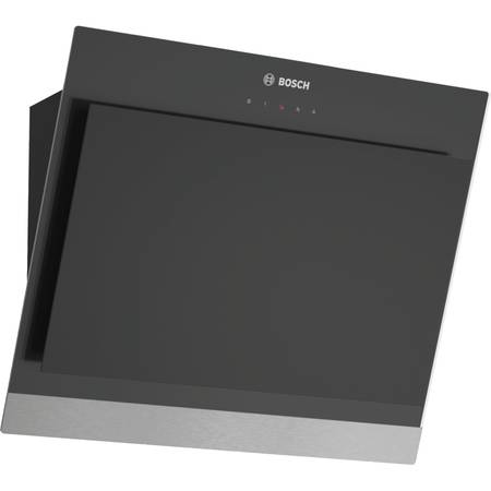 Hota Bosch DWK06G660 Putere de absorbtie 660 mc/h 1 Motor 60 cm Sticla Neagra