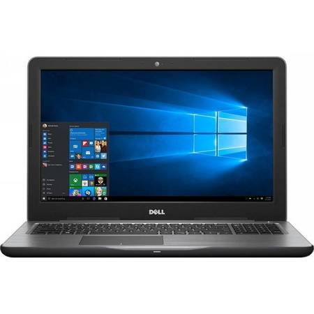 Laptop Dell Inspiron 5567 15.6 inch Full HD Intel Core i5-7200U 8GB DDR4 256GB SSD AMD Radeon R7 M445 2GB Linux Black 2Yr CIS