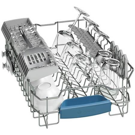 Masina de spalat vase Bosch SPS53E18EU  4, 45 cm, capacitate 9 seturi, silver inox anti-amprenta, clasa A+