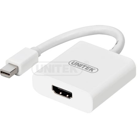 Adaptor UNITEK Y-6325WH miniDisplayPort - HDMI Converter