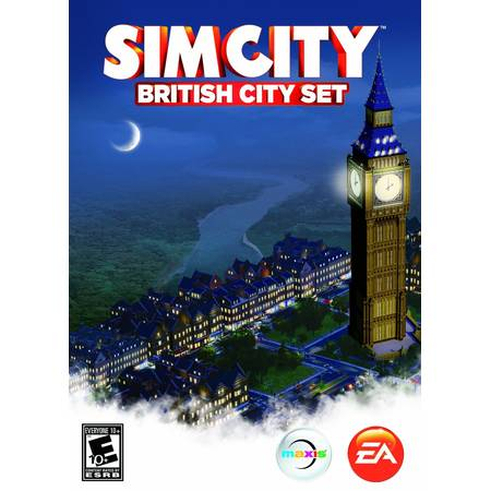 Joc PC Electronic Arts SimCity British City Set PC