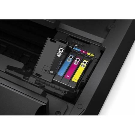 Multifunctionala Epson Workforce WF-7610DWF A3+ Inkjet Color LAN USB Wireless Negru