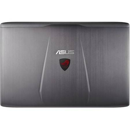 Laptop Asus ROG GL552VX-CN061D 15.6 inch Full HD Intel Core i7-6700HQ 16GB DDR4 1TB HDD 128GB SSD nVidia GeForce GTX 950M 4GB Grey Metalic