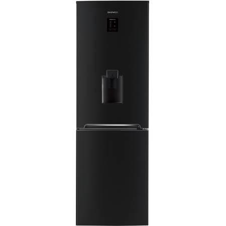 Combina frigorifica Daewoo RN-307RDQB 305 l Clasa A+ No Frost Dispenser apa Display Touch-Control Negru