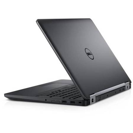 Laptop Dell Latitude E5570 15.6 inch Full HD Intel Core i5-6440HQ 8GB DDR4 500GB HDD AMD Radeon R7 M370 2GB Backlit KB Windows 10 Pro Black