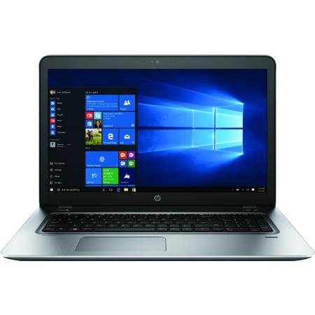 Laptop HP ProBook 470 G4 17.3 inch Full HD Intel Core i7-7500U 8GB DDR4 1TB HDD nVidia GeForce 930MX 2GB FPR Windows 10 Pro Silver