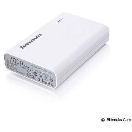 Acumulator extern Lenovo MP803 -  7800mAh - alb