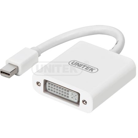 Adaptor UNITEK Y-6326WH miniDisplayPort - DVI Converter