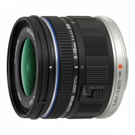 Obiectiv Olympus M.Zuiko Digital ED 9-18mm f/4-5.6 montura Micro Four Thirds