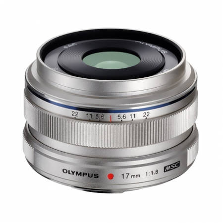 Obiectiv Olympus M.ZUIKO DIGITAL 17mm f/1.8 Silver montura Micro Four Thirds