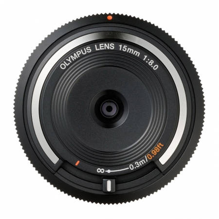 Obiectiv Olympus Body Cap Lens 15mm f/8.0 Black montura Micro Four Thirds
