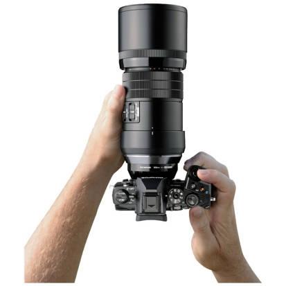 Obiectiv Olympus M.ZUIKO DIGITAL ED 300mm f/4.0 IS PRO Black montura Micro Four Thirds