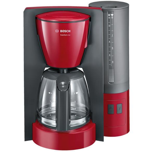 Cafetiera TKA6A044 1.2 litri Anti-picurare Oprire automata Rosu