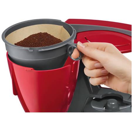 Cafetiera Bosch TKA6A044 1.2 l selector aroma anti-picurare oprire automata program decalcifiere Rosu