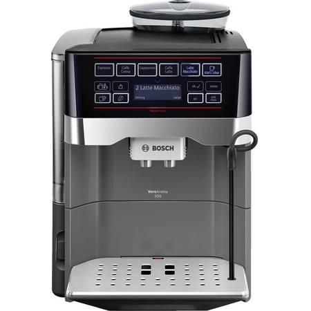 Espressor cafea Bosch TES60523RW 1500W 19 Bar 1.7 litri Negru/Titaniu