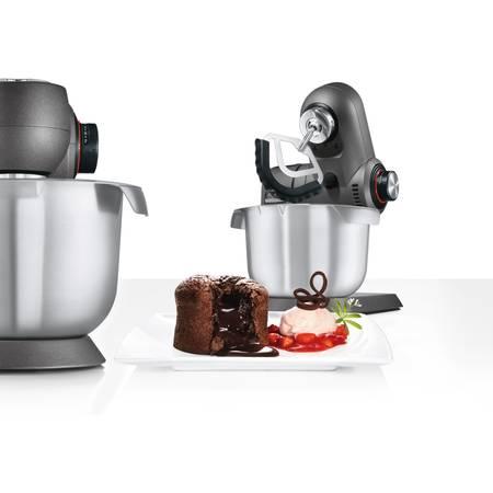Robot de bucatarie Bosch MUMXX40G 1600W vas inox 5.4 litri Argintiu