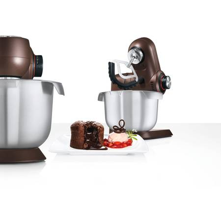 Robot de bucatarie Bosch MUMXL20C 1600W bol inox 5.4 litri Blender sticla 1.75 litri 7 viteze Maro