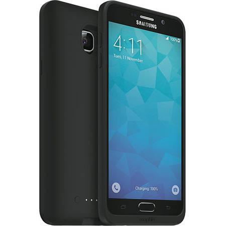 Acumulator extern Mophie Juice Pack Samsung Galaxy Note 5 - husa cu acumulator 2500mAh - negru
