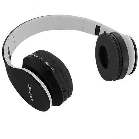 Casti Qoltec wireless stereo cu microfon  Black