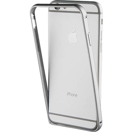 Bumper Muvit MUBUM0010 Argintiu pentru Apple iPhone 7 Plus