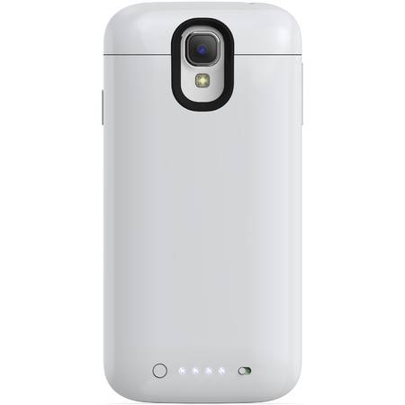 Acumulator extern Mophie Samsung Galaxy S4 juice pack - Husa cu acumulator 2300mAh - alb