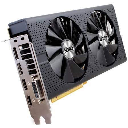 Placa video Sapphire AMD Radeon RX 480 NITRO+ 8GB DDR5 256bit