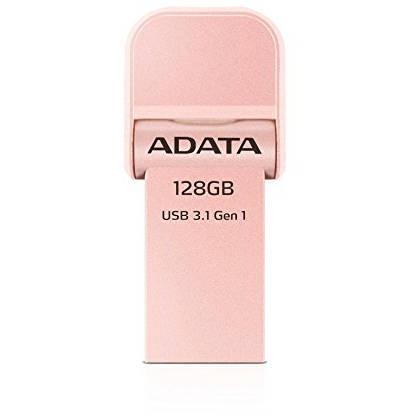 Memorie USB ADATA i-Memory Flash Drive AI920 128GB USB 3.1 Rose Gold