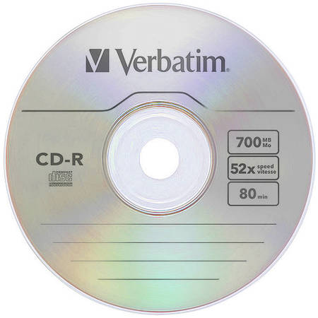 Mediu optic Verbatim 43432 CD-R 52X 700MB 1 bucata Extra Protection Surface