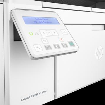 Multifunctionala HP Laserjet Pro M130NW Format A4 Alba