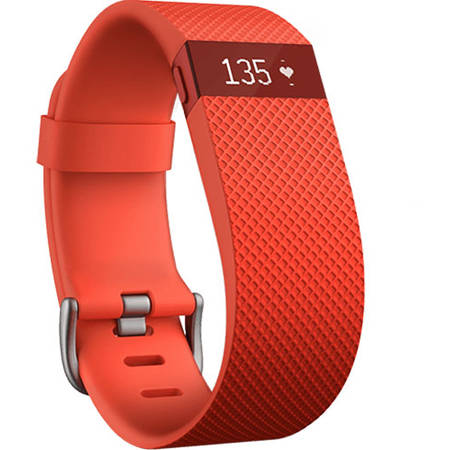 Bratara Fitness Fitbit Charge HR Fitness Wireless S Orange