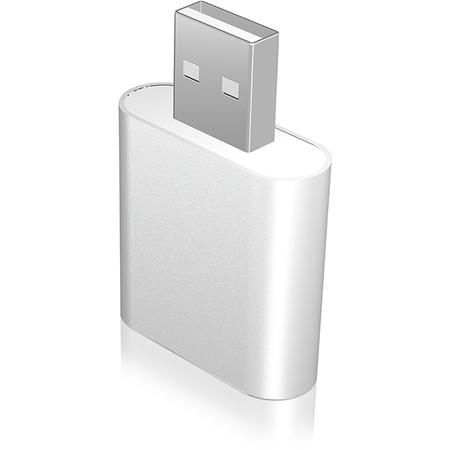 Adaptor RaidSonic IcyBox USB - microfon si adaptor casti