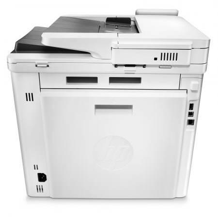 Multifunctionala HP Monocrom LaserJet Pro MFP M426Dw Wireless A4 Alba