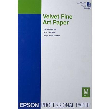 Consumabil Epson HARTIE VELVET FINE ART A3