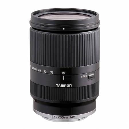 Obiectiv Tamron 18-200mm f/3.5-6.3 Di III VC Black montura Sony E