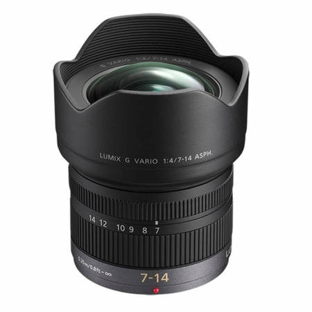 Obiectiv Panasonic Lumix G Vario 7-14mm f/4 montura Micro Four Thirds