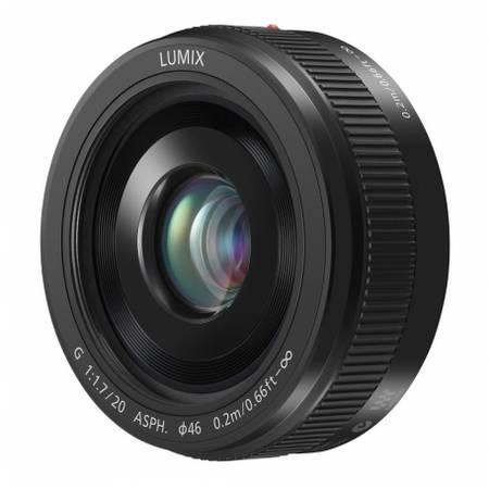 Obiectiv Panasonic LUMIX G 20mm f/1.7 II ASPH montura Micro Four Thirds