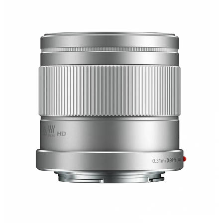 Obiectiv Panasonic LUMIX G f/1.7 42.5mm Silver montura Micro Four Thirds