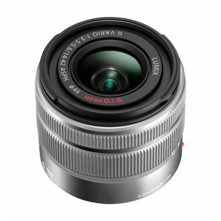 Obiectiv Panasonic 14-42mm f/3.5-5.6 II ASPH / MEGA O.I.S. montura Micro Four Thirds