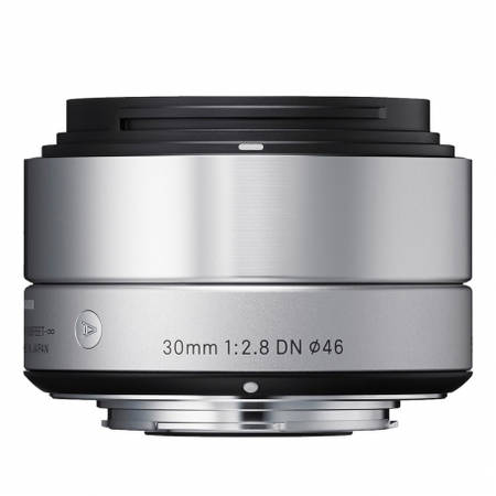 Obiectiv Sigma 30mm f/2.8 DN Art Silver montura Sony NEX