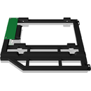 Icy Box Adapter aluminum for 2.5 HDD/SSD  Black