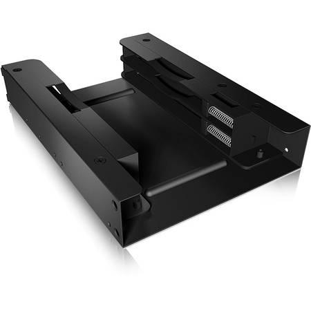 "Rack HDD RaidSonic Icy Box cadru de montare intern  3,5"" pentru 2x 2.5 SSD/HDD  Negru"