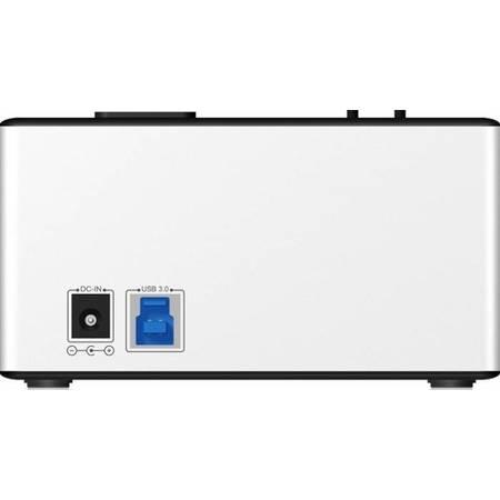 Rack HDD RaidSonic Icy Box Docking and Clone Station 4x 2.5 inch 3.5inch aluminiu