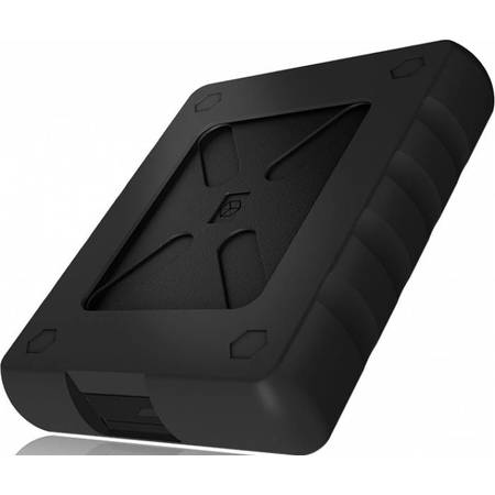 "Rack HDD RaidSonic Icy Box impermeabil pentru 2.5""  SSD/HDD  Black"