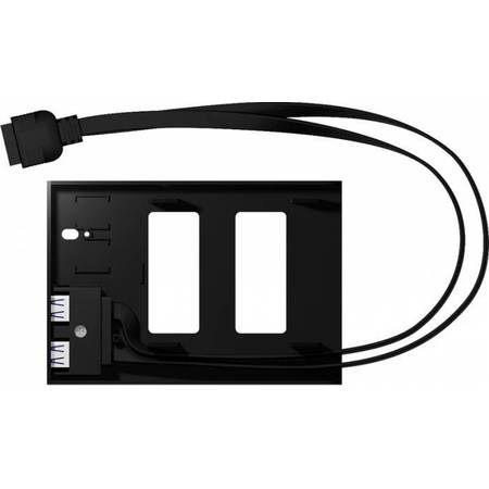 "Rack HDD RaidSonic Icy Box  2,5"" HDD/SSD  Black"