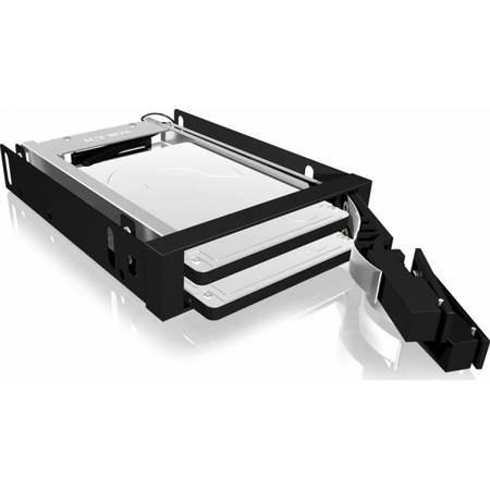 "Rack HDD RaidSonic Icy Box Mobil 2x 2.5"" SATA HDD/SSD Black"